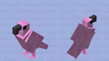 flamingo Minecraft Mob Skin