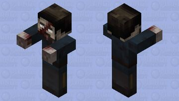 Infected Officer Minecraft Mob Skin