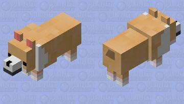 corgi Minecraft Mob Skin