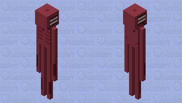NOT AN SCP - Siren Head Minecraft Mob Skin