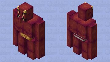 oni + mythical creatures contest entry Minecraft Mob Skin