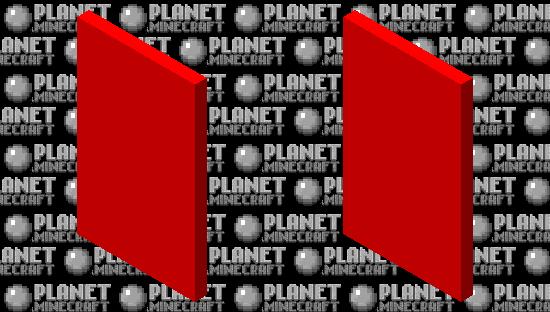 Red cape Minecraft Skin