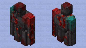 Netherite golem Minecraft Mob Skin