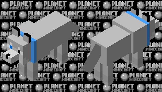 sans wolf (Tamed) Minecraft Skin