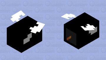 Bullet bill From SUPER MARIO BROS (1 3 world ect.) Minecraft Mob Skin