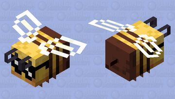 Bee But Epic Minecraft Mob Skin