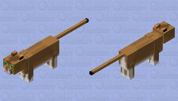 Puma Minecraft Mob Skin