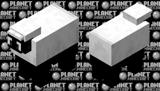 Shaun The sheep Minecraft Skin