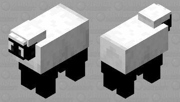 Shaun The sheep Minecraft Mob Skin