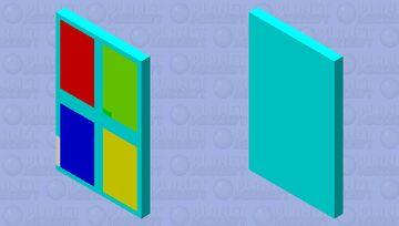 Windows Logo Minecraft Mob Skin