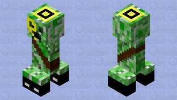 Classy Creeper(?) Minecraft Mob Skin