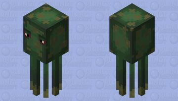 Squid (From my upcoming Texture pack) Minecraft Mob Skin