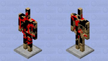 Corrupt Armor Stand Minecraft Mob Skin