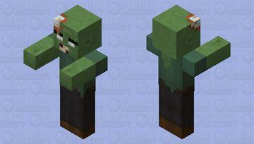 Slightly Better Zombie Minecraft Mob Skin