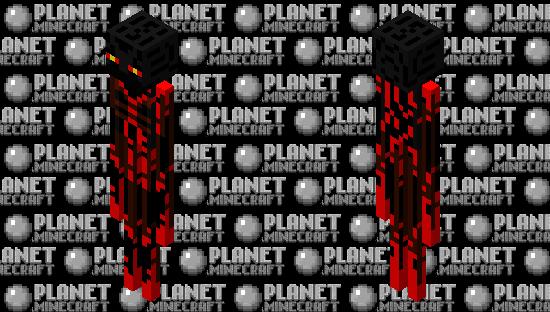 ender man Minecraft Skin