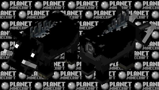 Black Hoglin Variant Minecraft Skin