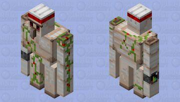 Golem goes to the gym Minecraft Mob Skin