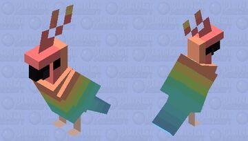 Pastel pride Minecraft Mob Skin