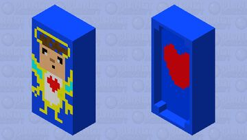 Angel on the bed Minecraft Mob Skin