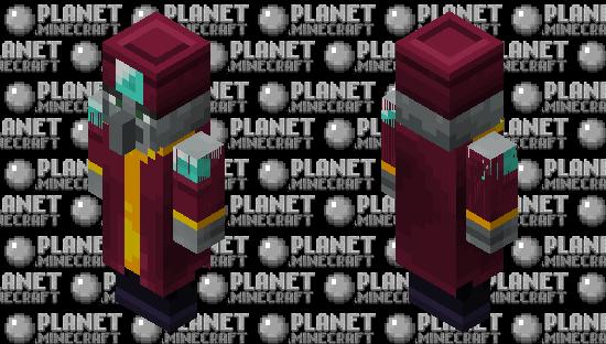 Illager Enchanter MCD Minecraft Skin