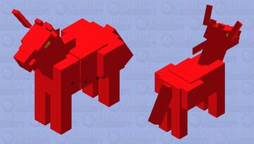 RMGC Horse/Donkey/Mule Minecraft Mob Skin