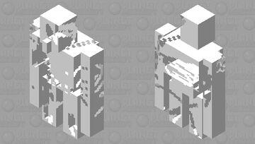 Skeletal Golem Minecraft Mob Skin