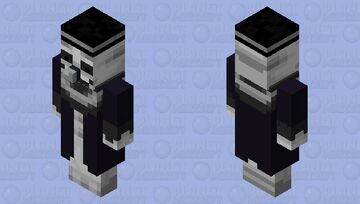 Smokey the Clown Minecraft Mob Skin