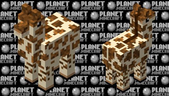 giraffe Minecraft Skin