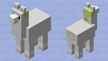 Carl from Llamas with hats Minecraft Mob Skin