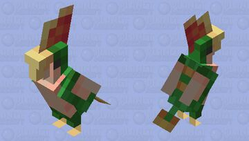 [Dino] Tiny Pterosaur Minecraft Mob Skin