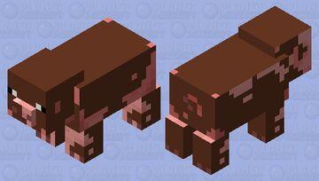 Muddy Oinks Minecraft Mob Skin
