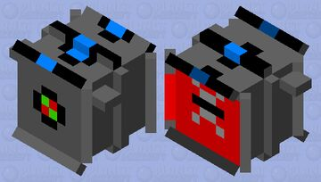 High Tech Vacuum (Entry for LemilasTheElf's Sci-Fi mob skin contest) Minecraft Mob Skin