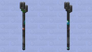 Cyprezz but it's a trident. Minecraft Mob Skin