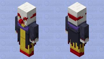 Ragetty the Clown Minecraft Mob Skin
