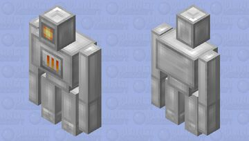 Reforged Golem Minecraft Mob Skin