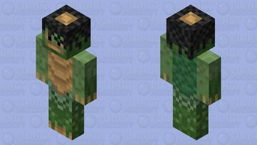Kappa 河童 Minecraft Mob Skin