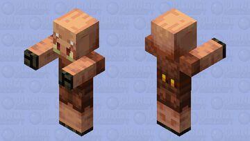 Piglin Minecraft Mob Skin