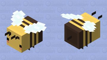 _-=: Soft Bee :=-_-_-=: Series :=-_ Minecraft Mob Skin