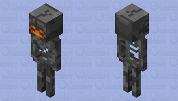 T-800 Endoskeleton (Mobs Reimagined Entry) Minecraft Mob Skin
