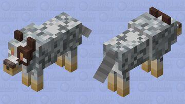 Cattle Dog Minecraft Mob Skin