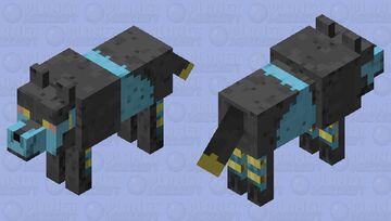 Luxray Minecraft Mob Skin