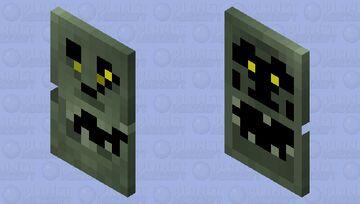 Crazzzy skulllo (BETTER IN 3D) Minecraft Mob Skin