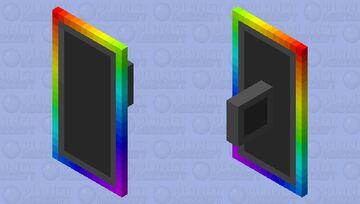 RGB Shield Minecraft Mob Skin