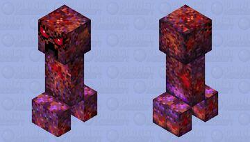 Evil creeper Minecraft Mob Skin