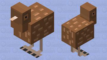 Kiwi (Bird) Minecraft Mob Skin