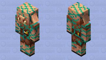 Infested Piglin Minecraft Mob Skin