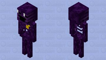 The Dooter behind the Slaughter Minecraft Mob Skin