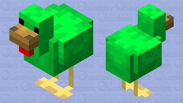 Weird Chicken Minecraft Mob Skin