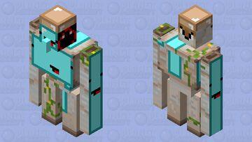cursed golem Minecraft Mob Skin