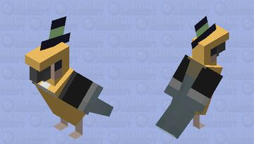 a little bird Minecraft Mob Skin